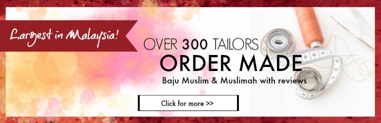 MyBaju Platform laman web Malaysia bagi Baju order made muslimah