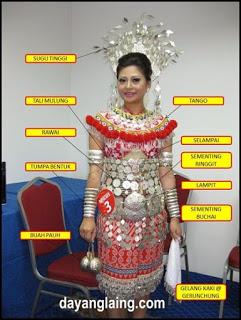 Baju Traditional Kaum Iban Mybaju Blog