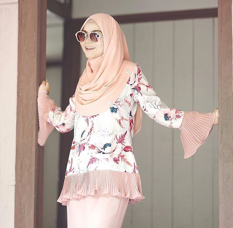 Image result for perempuan baju kurung cotton